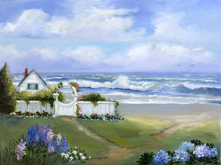 Joyce Ortner Seascape Artist